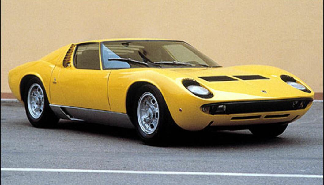 Miura P400 dukket opp på Geneve-utstillingen i 1966.