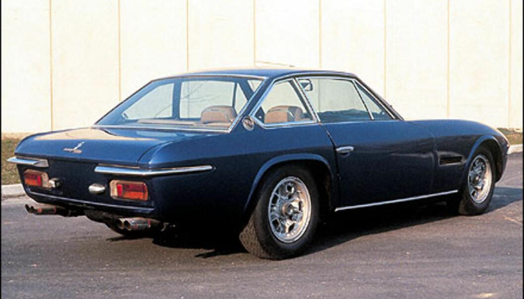 Islero hadde en V12 på 320 hestekrefter og skivebremser.