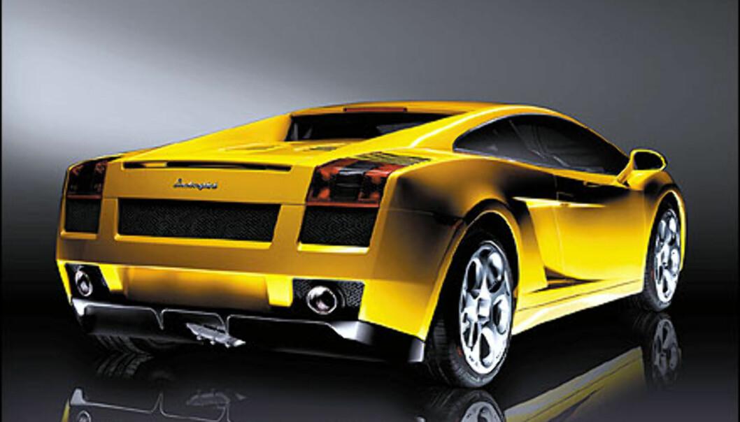 Gallardo er det foreløpig siste skuddet på Lamborghini-treet. Bilen kom i 2003.