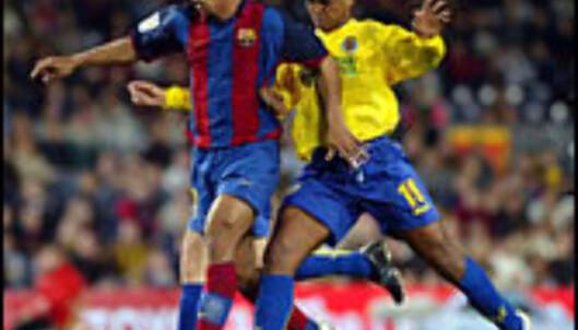 Ronaldinho i kamp mot Villareal fra Castellón.<br /> <br /> <i>Foto: FCBarcelona.com Foto: FC barcalona.es