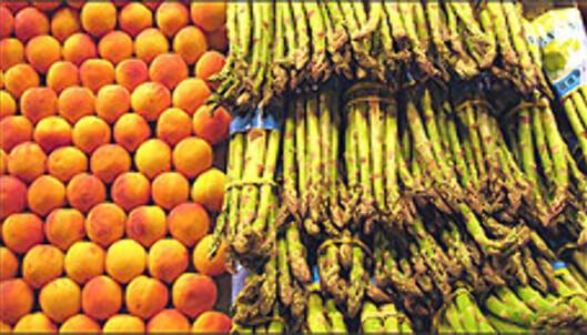 La Boquería er kanskje Europas vakreste matmarked.<br /i><br /> <i>Foto: Inga Holst</i> Foto: Inga Holst