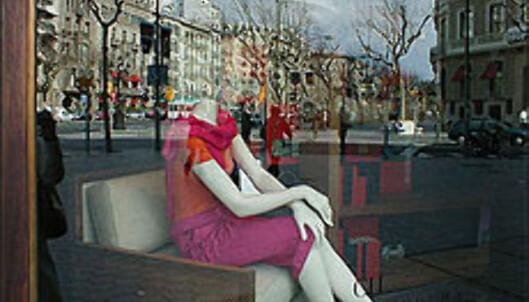 Carolina Herreras elegante forretning i Passeig de Gràcia.<br /> <br /> <i>Foto: Inga Holst Foto: Inga Holst