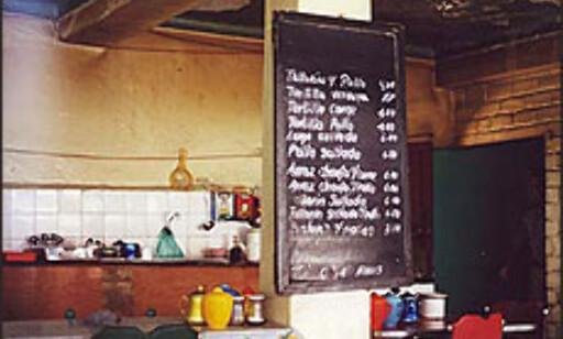 Vil denne autentisk restauranten i Peru, få besøk av en turistbuss?  Foto: Inga Holst Foto: Inga Holst