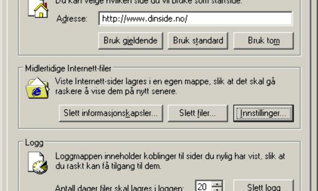 Programvare: Internet Explorer viser kun BMP-format - DinSide