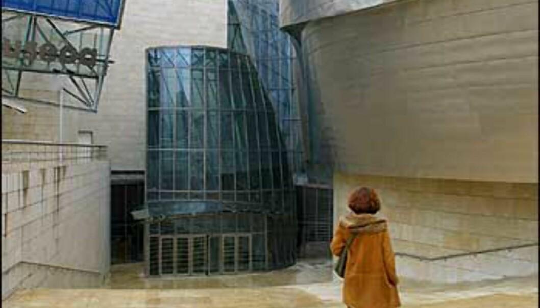 Titaniumblomst i Bilbao