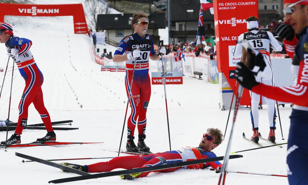 NYANSER: Simen Andre Sveen, som er både langrennsløper og medisinstudent, vil ha frem nyansene i astmadebatten. Foto: Heiko Junge / NTB scanpix