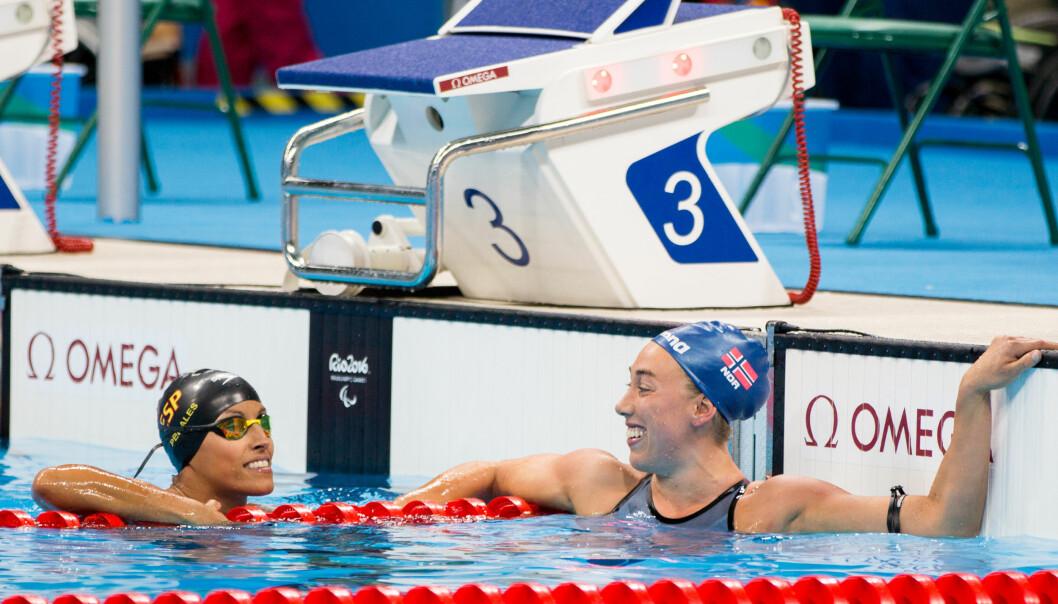<strong>BRONSE:</strong> Sarah Louise Rung tok Norges første medalje i Paralympics. Foto: Caroline Dokken Wendelborg/ NIF <div><br></div>