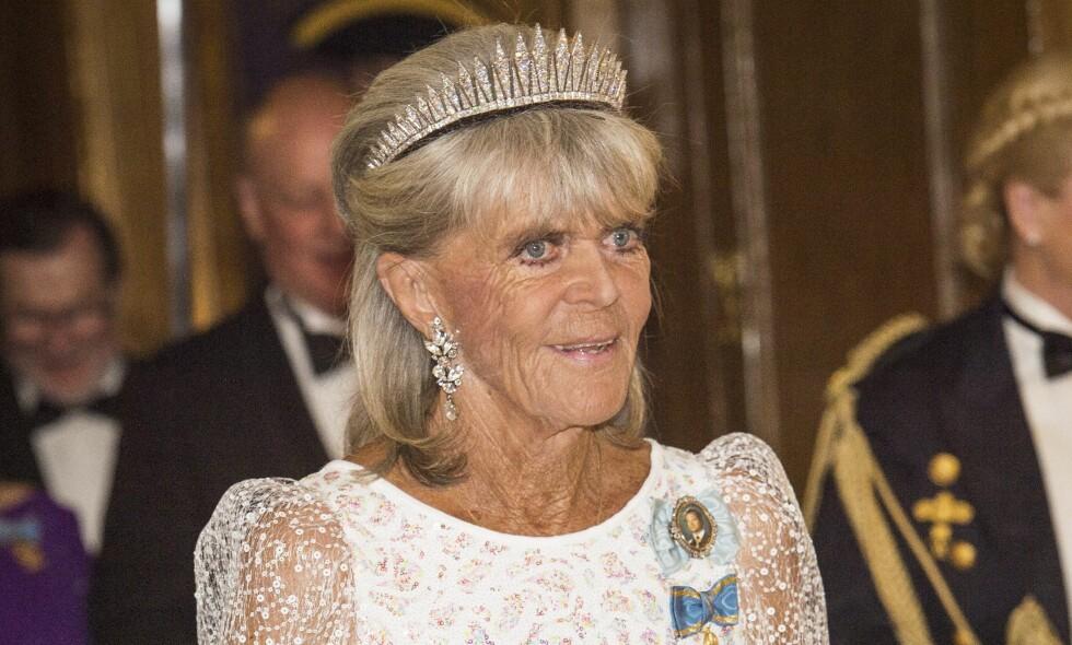 FORBANNA: Prinsesse Birgitta (79) er ikke fornøyd med det spanske mediehuset Vocentos nyhetstabbe, som gir uttrykk for at hun er gått bort. Foto: Ola Axman / NTB Scanpix