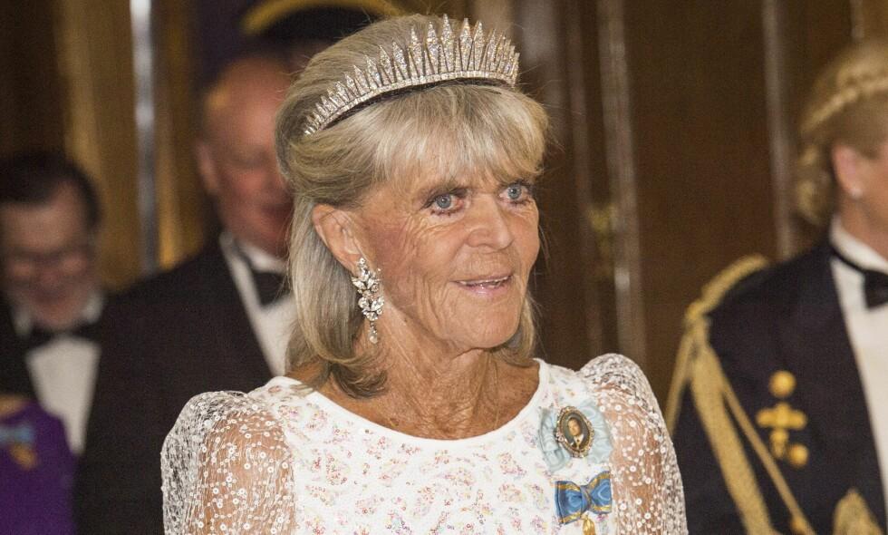 TAKKER NEI: Kong Carl Gustafs søster, prinsesse Birgitta, blir ikke å se i dåpen til prins Alexander. Hun vil heller spille golf. Foto: Ola Axman / NTB Scanpix