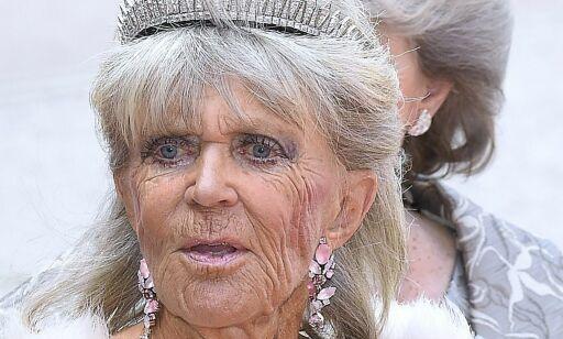 image: Prinsesse Birgitta droppet dåpen. Krasjer med golfturnering