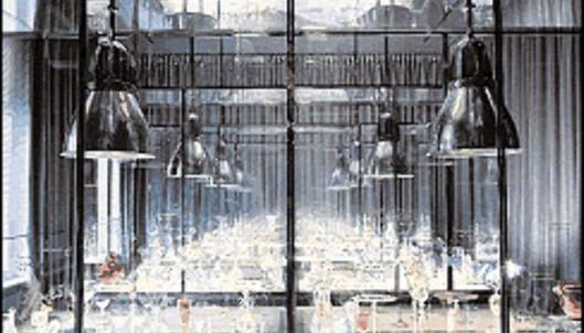 Nytt showroom i eldre slott.<br /> <br /> <I>Foto: Baccarat.fr</I> Foto: baccarat.fr