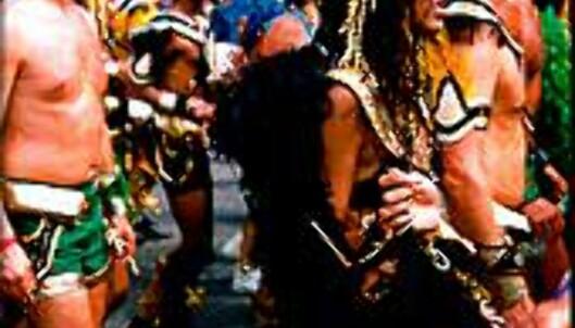 Karnevalsfeiringen på Trinidad er av de største og villeste i verden. <I>Foto: Dag Scheve</I> Foto: Dag Scheve