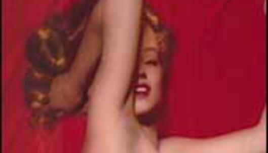 Marilyn Monroes tidlige erotiske bilder er utstilt i LAs erotikkmuseum. Foto: theeroticmuseum.com