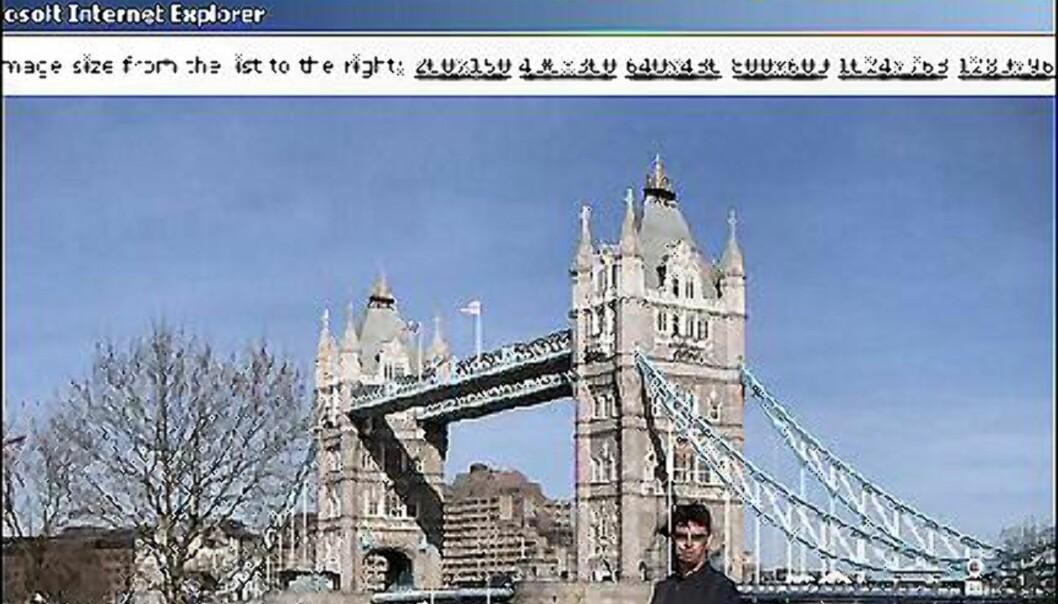 Aldri sur på tur med Segway.<br /> <br /> <br /> Faksimilie fra PlanetMoto.co.uk