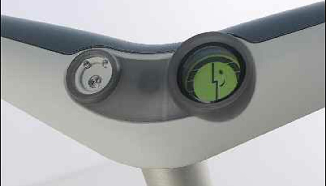 Den nye P-modellens styre.<br /> <br /> <br /> Bilde: Segway.com