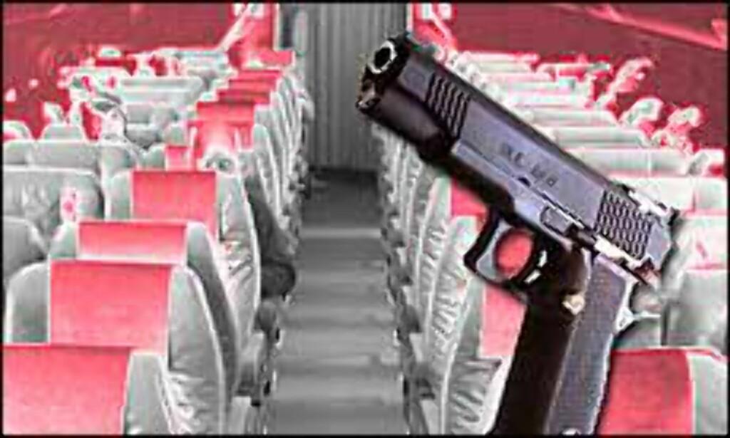 Amerikanske myndigheter krever væpnede vakter om bord.