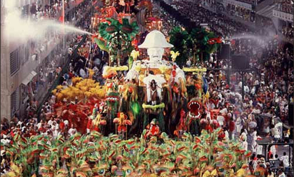 Karneval i Rio de Janeiro. Foto: www.brazil.org.uk