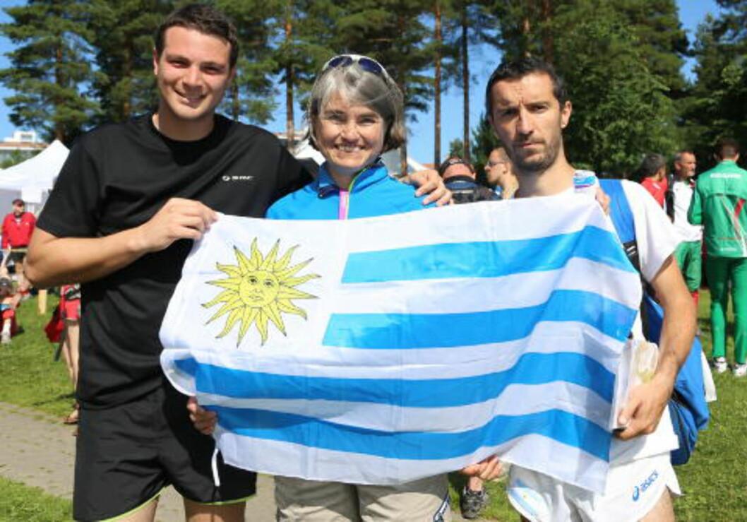 IOF-ROLLE:  Astrid Waaler Kaas er visepresident i den internasjonale orienteringsforbundets Council. Under VM har hun vært guide og trener for Aserbaijan.