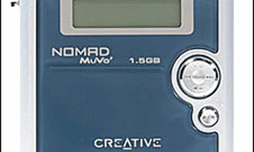 Creative MuVo2 1,5 GB.