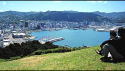 Studioinnspillingene ble gjort i Wellington, og opptakene fra Bri er gjort like utenfor den newzealandske hovedstaden.<br /> <I>Foto: Centre Stage of New Zealand</I> Foto: Foto: Centre Stage of New Zealand