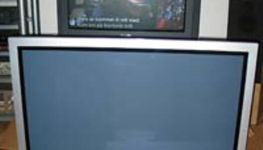 En standard 32-tommer blir stusselig i forhold til de lekre Plasmaskjermene<br /> <br /> Bildet viser Hitachis 42-tommers Plasma-TV, som akkurat nå er inne til test. Testen kommer i neste uke. Følg med!