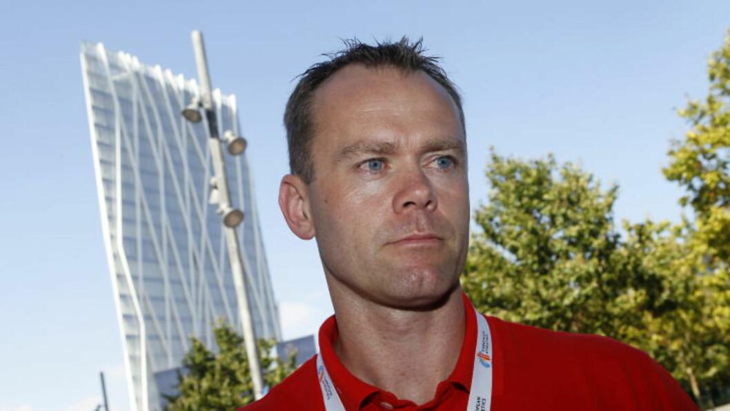 PROTEST:  Sportssjef Ronny Nilsen og den norske troppen har lagt inn en protest. Foto: Cornelius Poppe / Scanpix