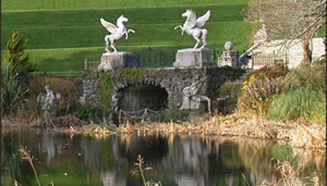 <strong>POWERSCOURT GARDEN, ENNISKERRY:</strong> Irene er glade i hagene sine. Powerscourt Garden ligger cirka en times kjøring fra Dublin. Foto: Inga Holst