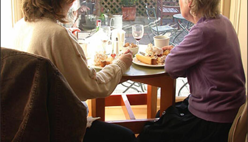 <strong>TEATIME:</strong> Scones, te og krem til formiddagsmat. Foto: Inga Holst