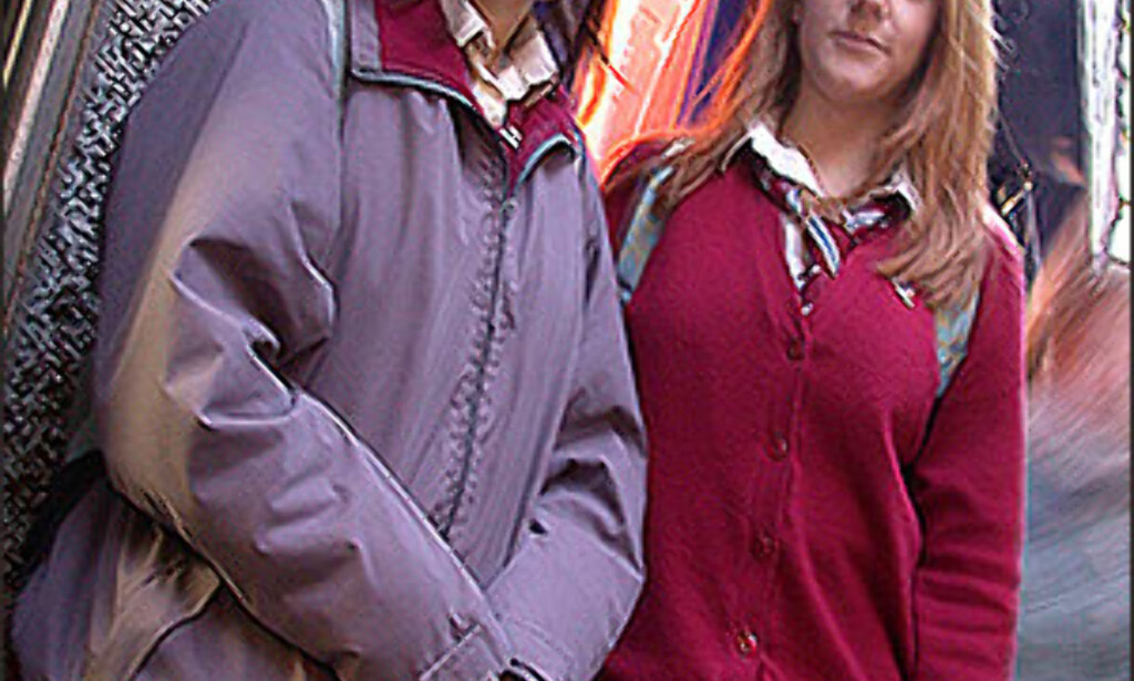 Skoleuniformer slipper man ikke unna. Helt fram til fylte 18 år går irsk ungdom i skoleuniform. Foto: Inga Holst