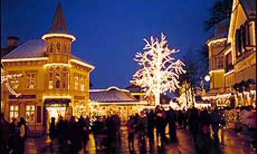 Jul på Liseberg. Foto: Stig Kälvelid/Liseberg Foto: Stig Kälvelid