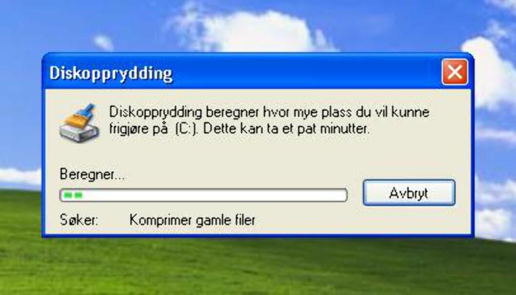 Velkjent postmann i Windows XP?