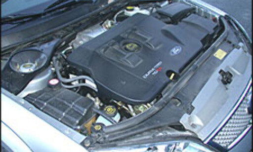 image: Motor og girkasse