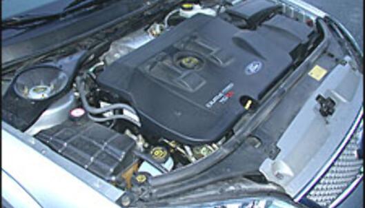 Motor og girkasse