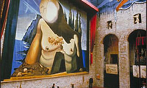 Teatre-Museu Dalís store sal.  Foto: Fundació Gala-Salvador Dalí Foto: Fundació Gala-Salvador Dalí