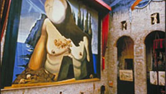 Teatre-Museu Dalís store sal.<br /> <br /> <I>Foto: Fundació Gala-Salvador Dalí</I> Foto: Fundació Gala-Salvador Dalí
