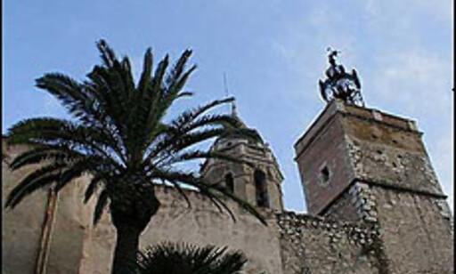 Sant Bartomeu i Santa Tecla i Sitges.  Foto: Inga Holst Foto: Inga Holst