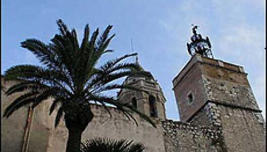 Sant Bartomeu i Santa Tecla i Sitges.<br /> <br /> <I>Foto: Inga Holst</I> Foto: Inga Holst