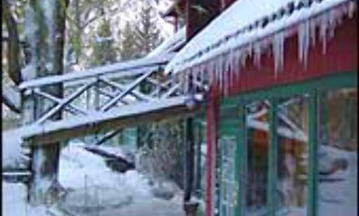 Engø Gårds låve vinterstid. Foto: Engø Gård Foto: Engø Gård