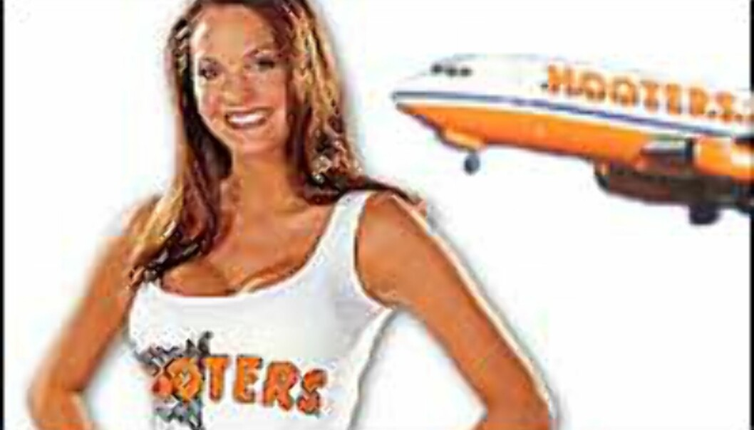 Hooters Air fronter sine fordeler ...