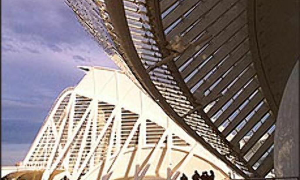 Ta turen innom Ciudad de las artes y las cinecias - Kunst- og vitenskapsmuseet.<br /> <br /> <I>Foto: www.cac.es</I> Foto: cac valencia