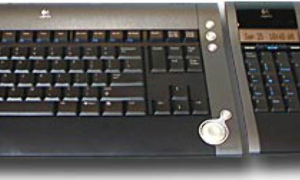image: Design-tastatur med BlueTooth fra Logitech