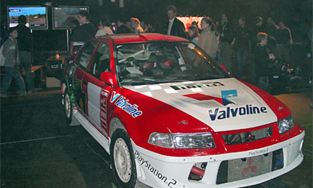 Bilen til Henning Solberg
