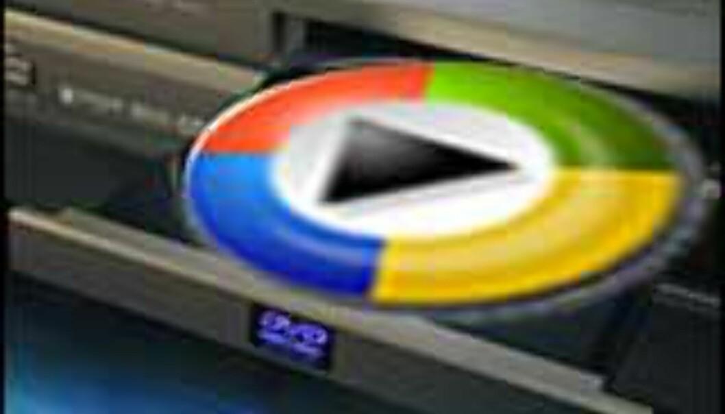 Første DVD-opptaker med støtte for Windows Media