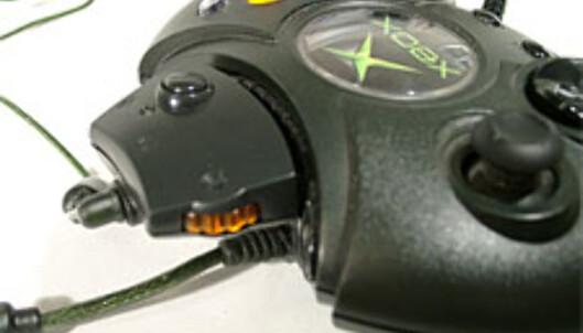 Volumkontroll og mute-knapp