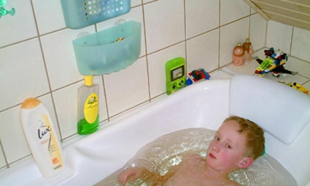 I det lyse badet fungerer blitzen helt topp!