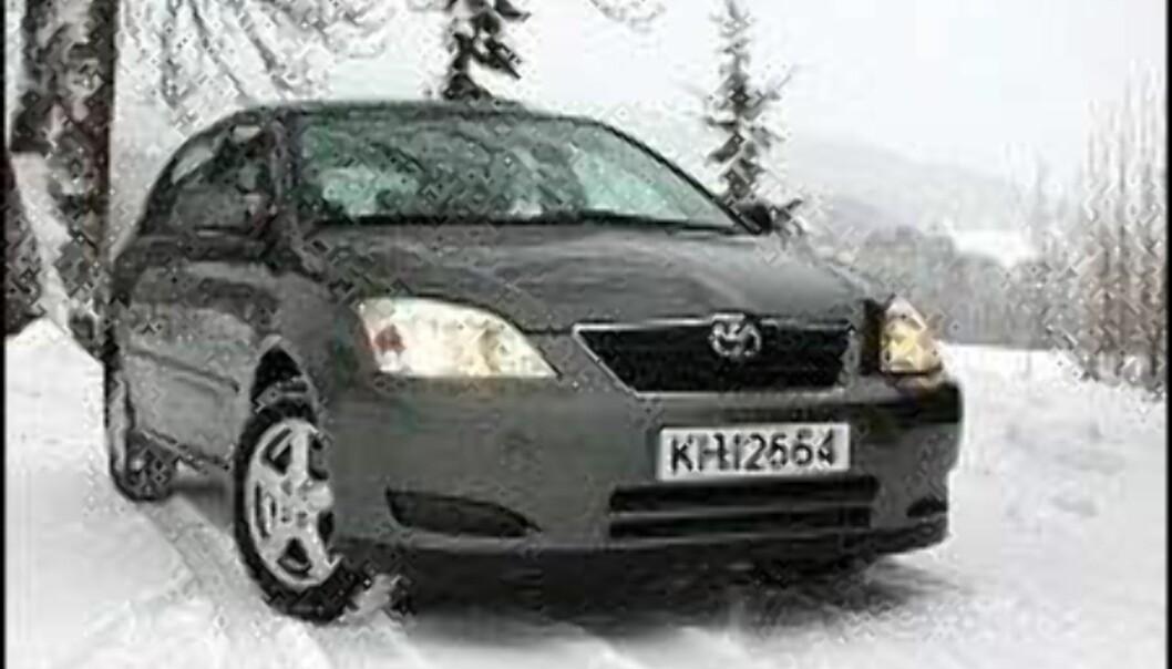 Trimming av Toyota med dieselmotorer