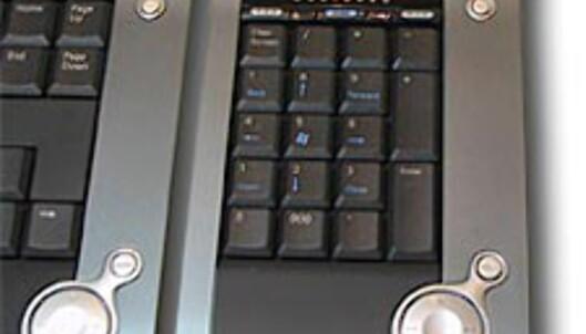 Design-tastatur med BlueTooth fra Logitech