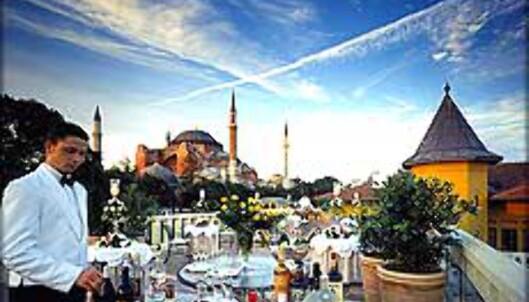 Four Seasons er en populær hotellkjede. Her fra et av deres fineste hoteller, i Istanbul. Foto: Four Seasons