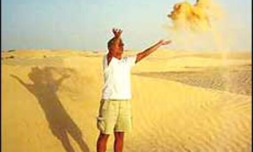 Det er fortsatt sommerhett i Tunisia. Foto: Berit Fjell Foto: Berit Fjell Kamhaug