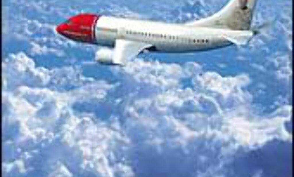 Bergen - London Stansted direkte.<br /> <br /> <I>Foto: Norwegian</I>